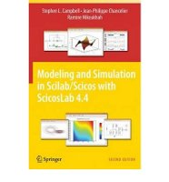 Modelling and Simulation in Scilab/Scicos with ScicosLab 4.4
